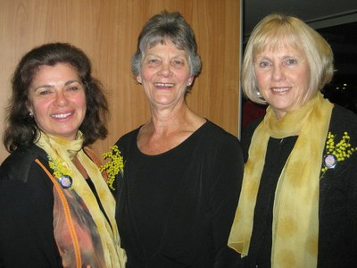 Suzette Searle, Florence Fahy & Judy Tunningley
