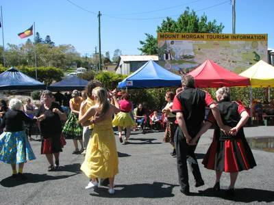 Mt Morgan Wattle Festival