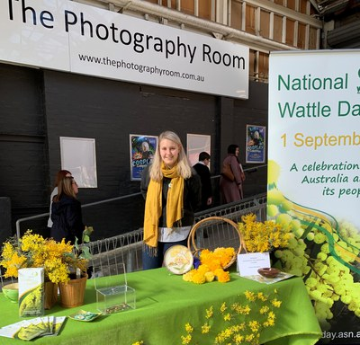 2019 Wattle stall (ist time) at OBDM Kingston