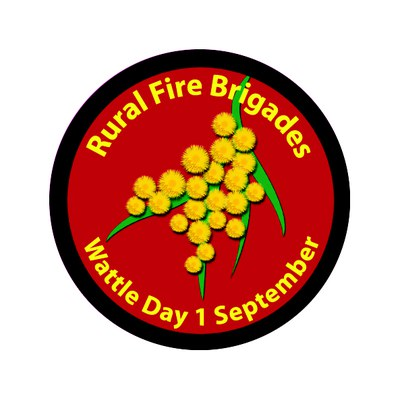 Badge Rural fire brigades 2012