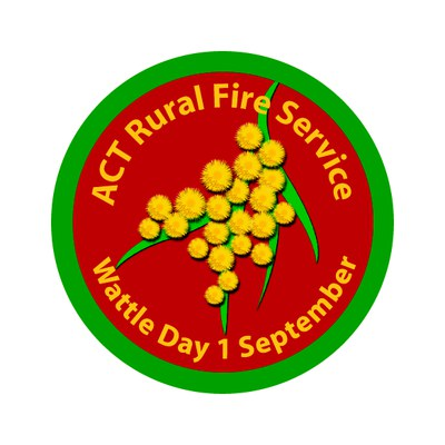 Badge ACT Rural Fire Service 2014