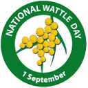 National Wattle Day badge 2016