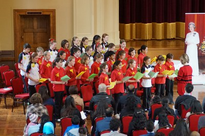 Choir Aranda Primary School 2015 Albert Hall