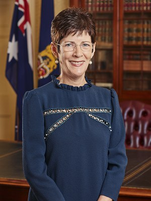 Her Excellency Mrs Linda Hurley