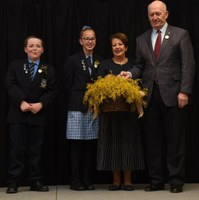 National Wattle Day celebration at Bourke Public School NSW